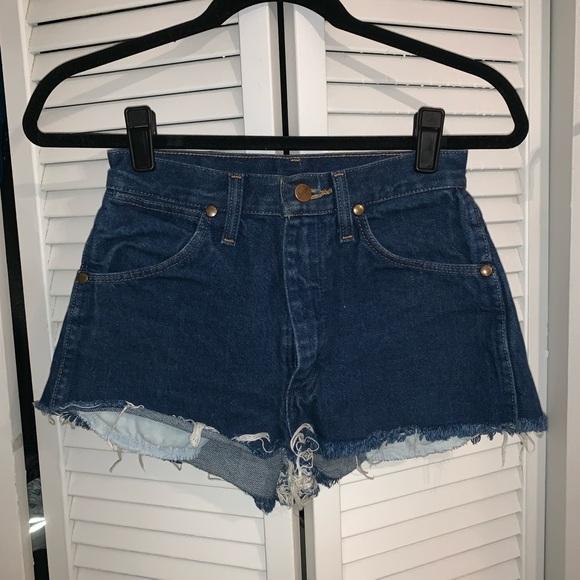Wrangler Pants - Vintage Wrangler Cutoffs